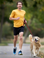 Functional Training - walking the dog is exercise!